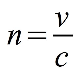 bezwzględny-współczynnik-załamania-światła-wzór