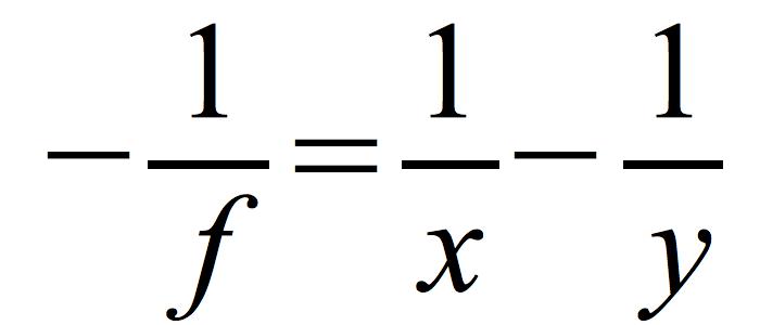 równanie-soczewki-rozpraszającej
