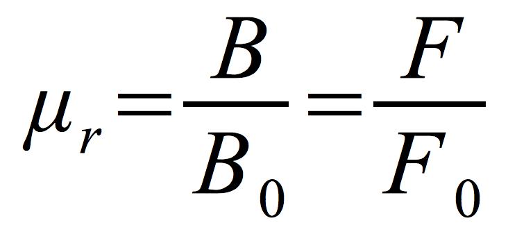 względna-przenikalność-magnetyczna