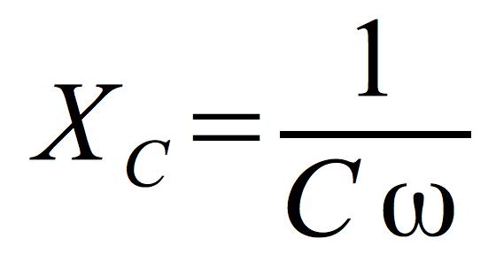 opór-pojemnościowy-obwodu-C-wzór