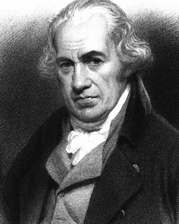 James Watt silnik parowy maszyna kopiująca