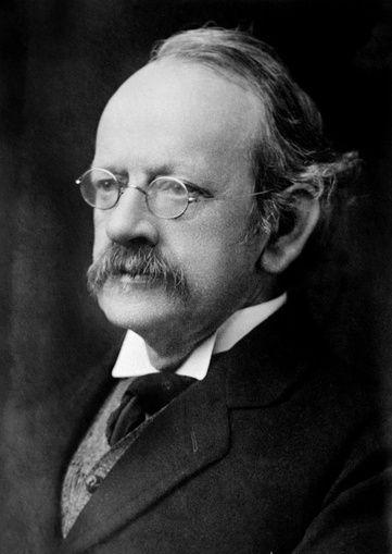 Joseph John Thomson odkrycie elektronu stworzenie pierwszego spektrometru masowego