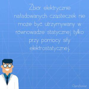 elektrycznie naładowane cząsteczki