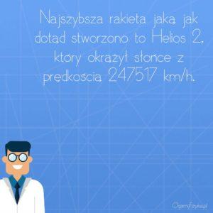 najszybsza rakieta helios 2