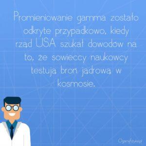 odkrycie promieniowania gamma
