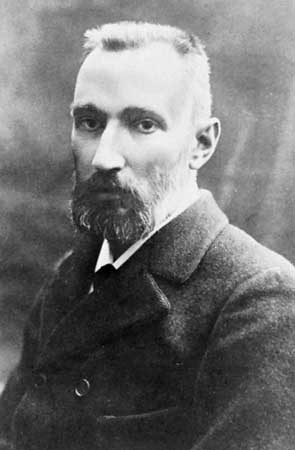 Pierre Curie magnetyzm promieniotwórczość ferromagnetyzm