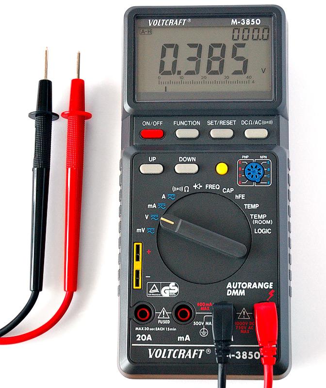 #1 Multimetr - metrologia, elektrotechnika, fizyka, miernik