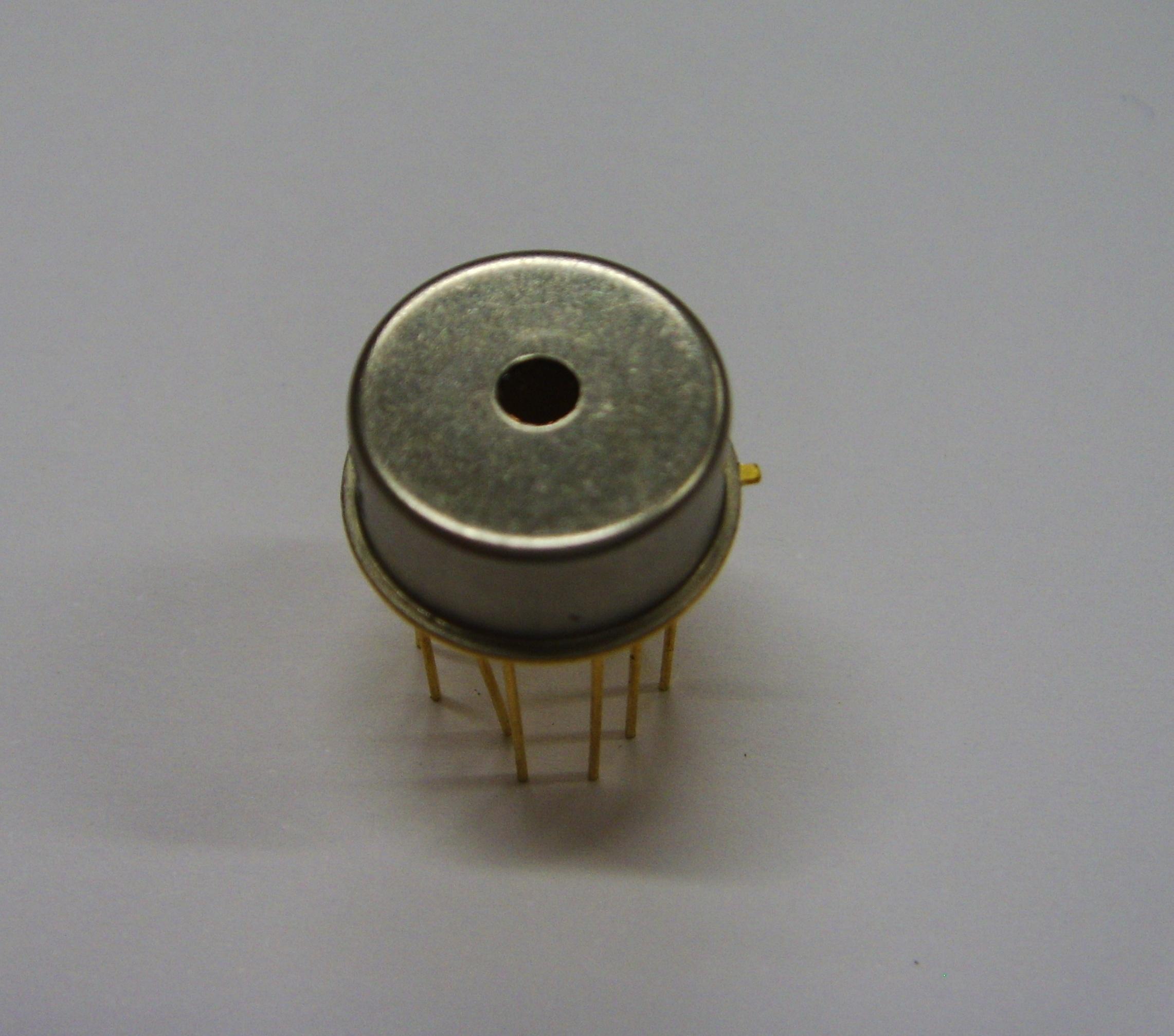 #2 Czujnik piroelektryczny - piroelektryk, fizyka, SEM