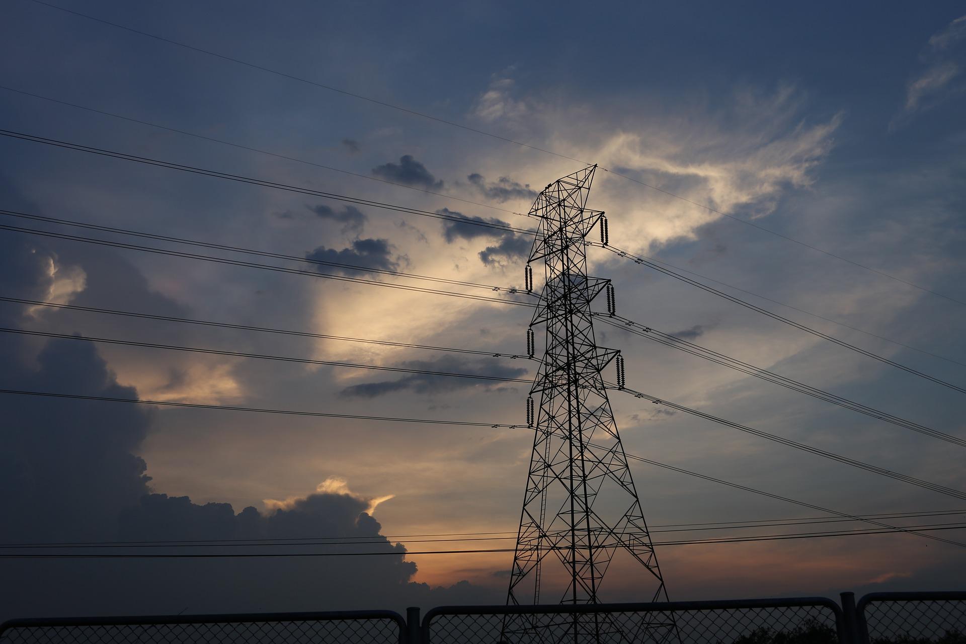 #2 energia elektryczna, Linia przesyłowa - prąd elektryczny, elektryczność, energetyka, przesył
