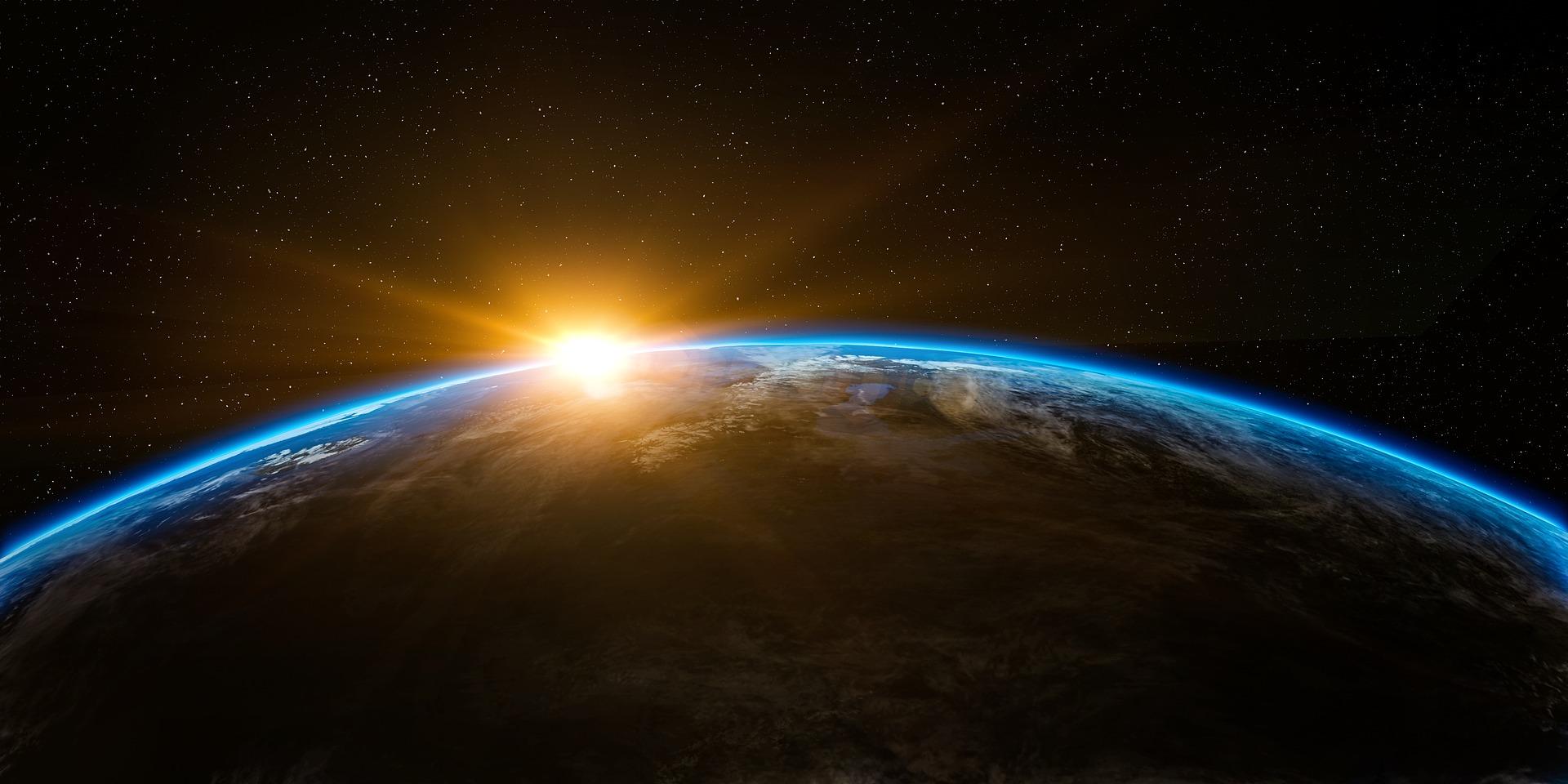 #3 Słońce - gwiazda, układ słoneczny, wschód słońca, astronomia
