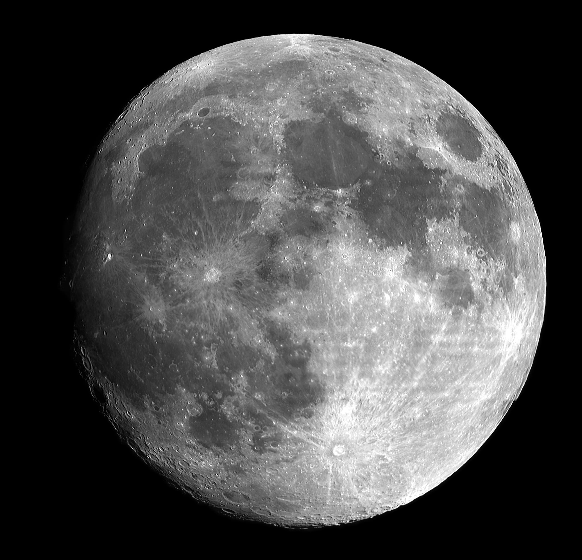Księżyc, naturalny satelita, Ziemia