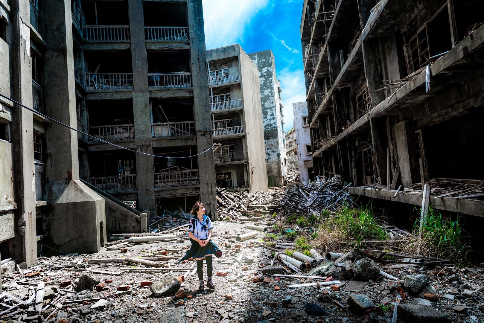 trzęsienie ziemi, zniszczone miasto, fale sejsmiczne