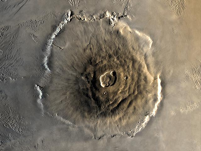 Olympus Mons największy wulkan