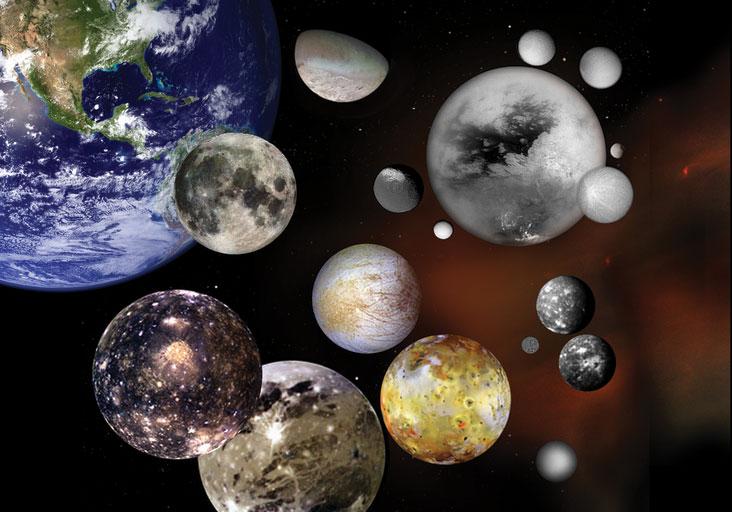 Księżyce w Układzie Słonecznym