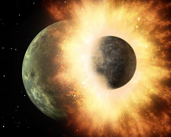 Powstanie księżyca