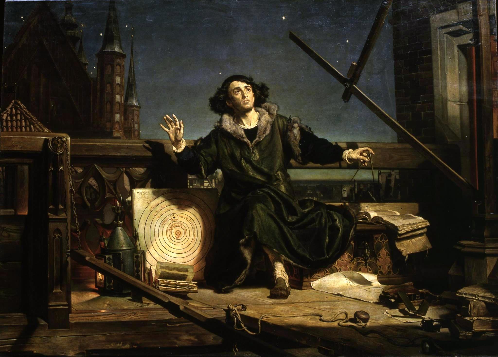 Mikołaj Kopernik, astronomia, O obrotach sfer niebieskich,