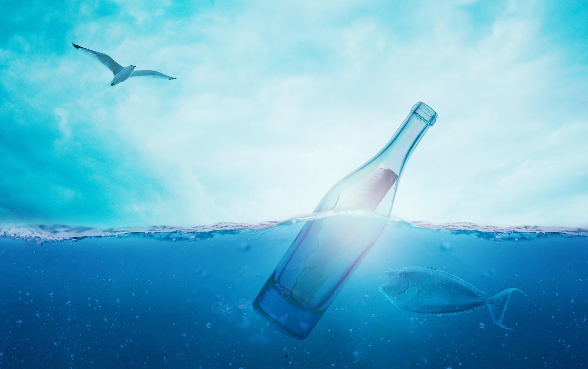 zastosowanie prawa Archimedesa, prawo Archimedesa, siła wyporu, butelka
