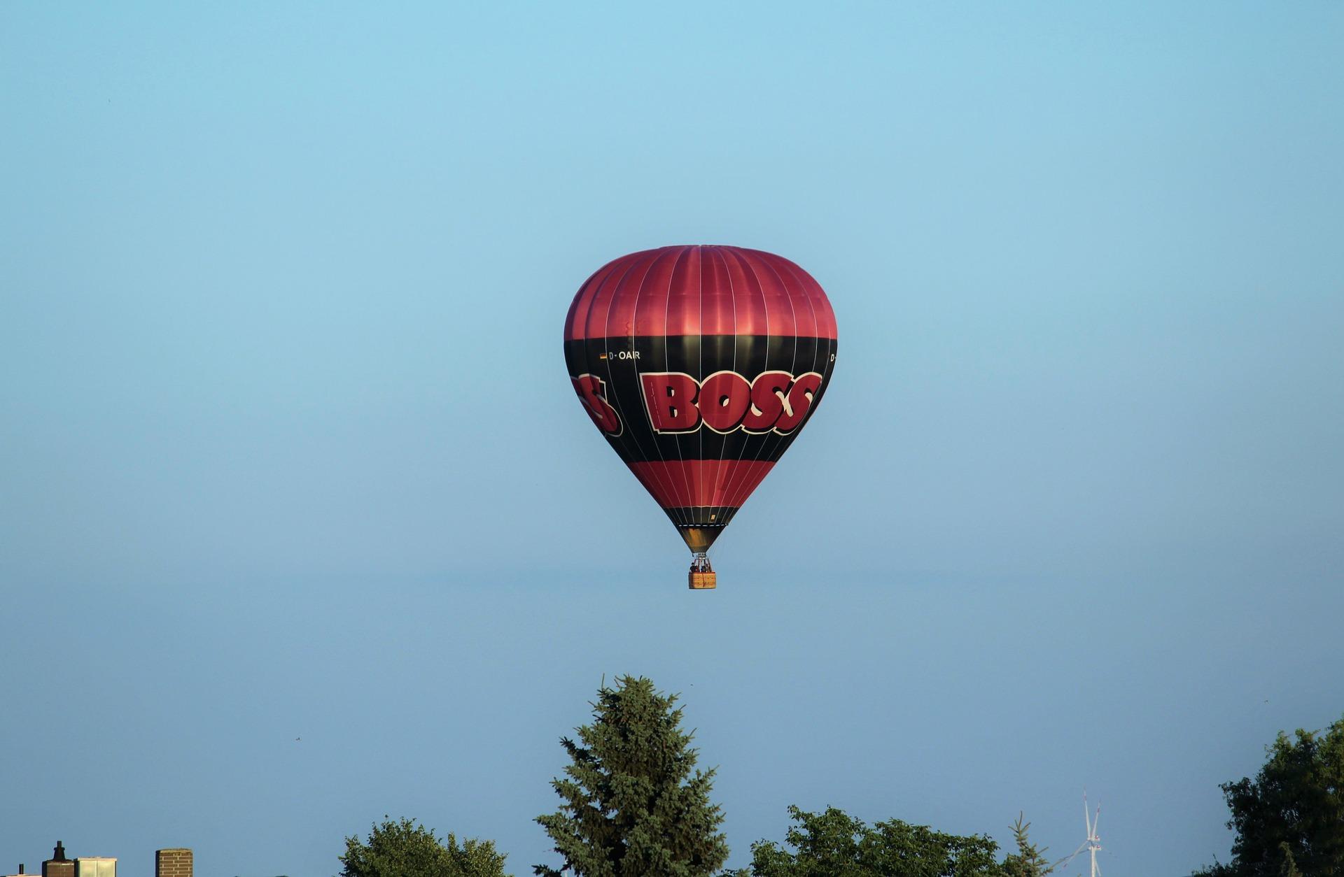 siła wyporu, balon, siła grawitacji, opór powietrza