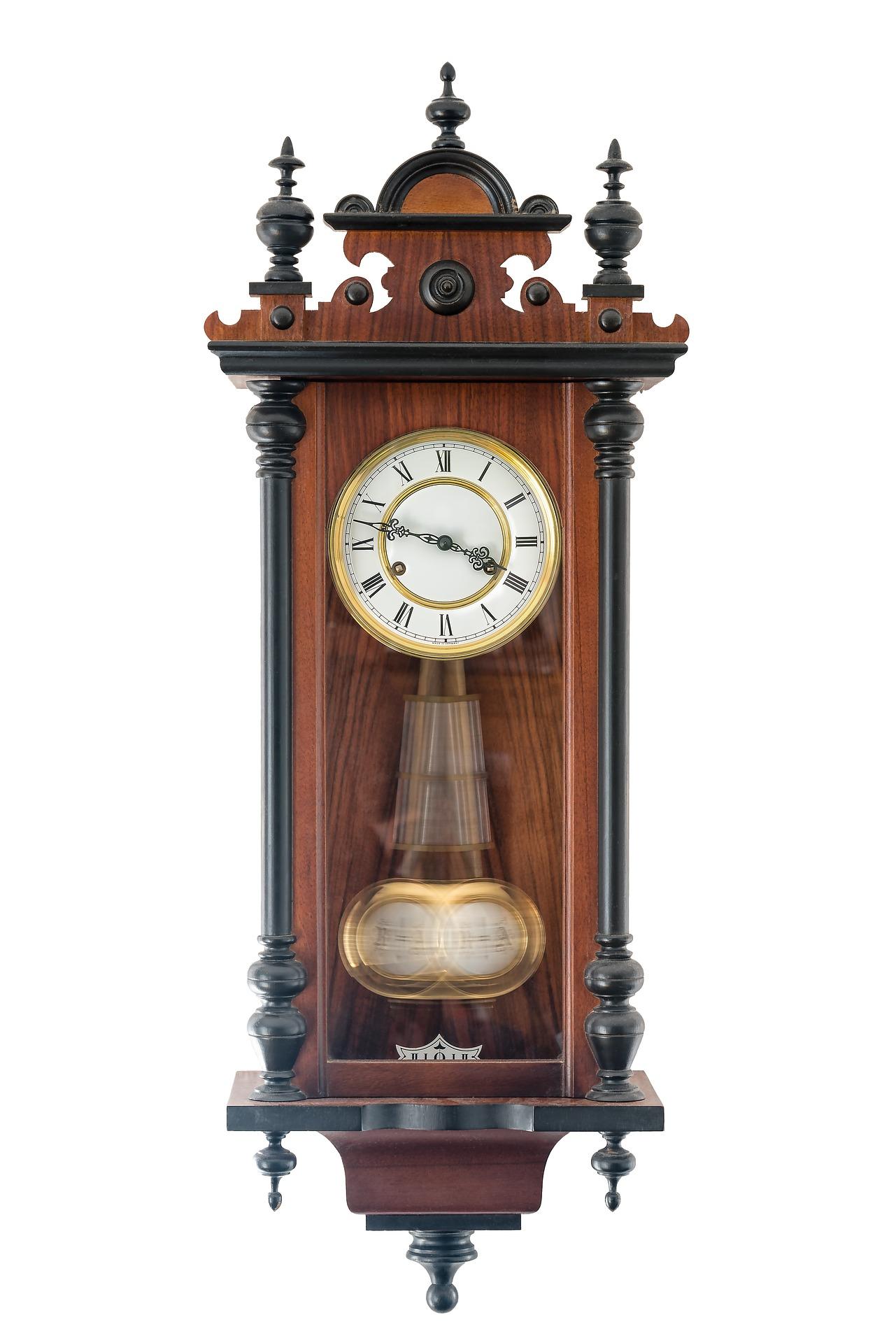 ruch harmoniczny, zegar, wahadło