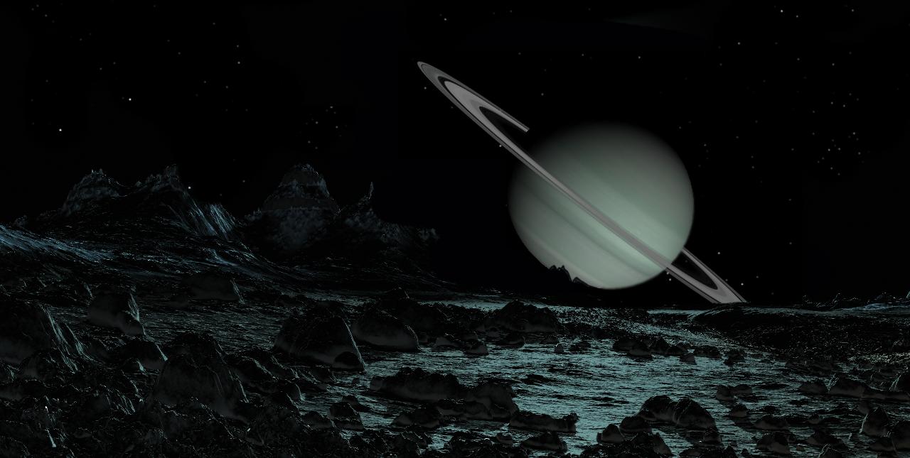 planety z pierścieniami, Saturn, układ słoneczny