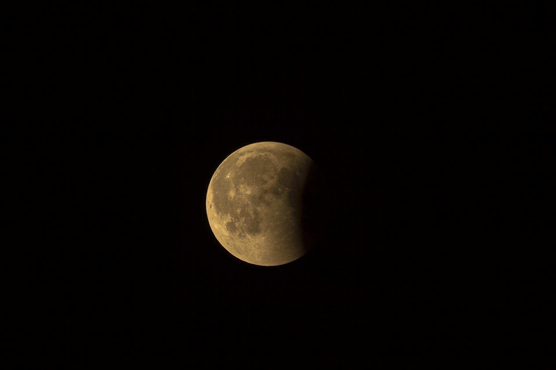 naturalny satelita ziemi, księżyc, astronomia, kosmos